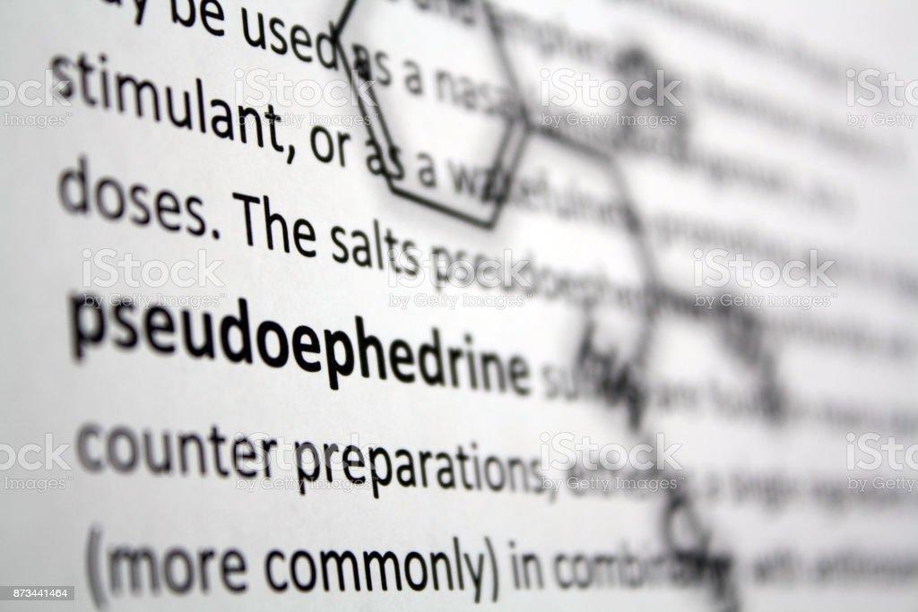Pseudoephedrine – Foto