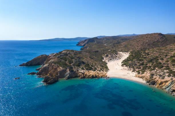 Psili Ammos Beach, Crete Island stock photo