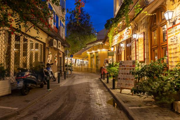 Psiri, Athens stock photo