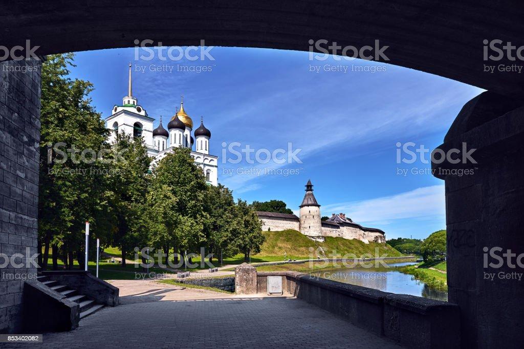 Pskov stock photo