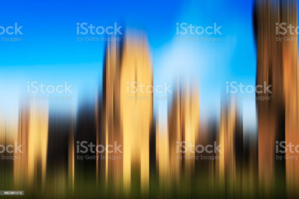 Psychedelische achtergrond op basis van blured het platform image royalty free stockfoto