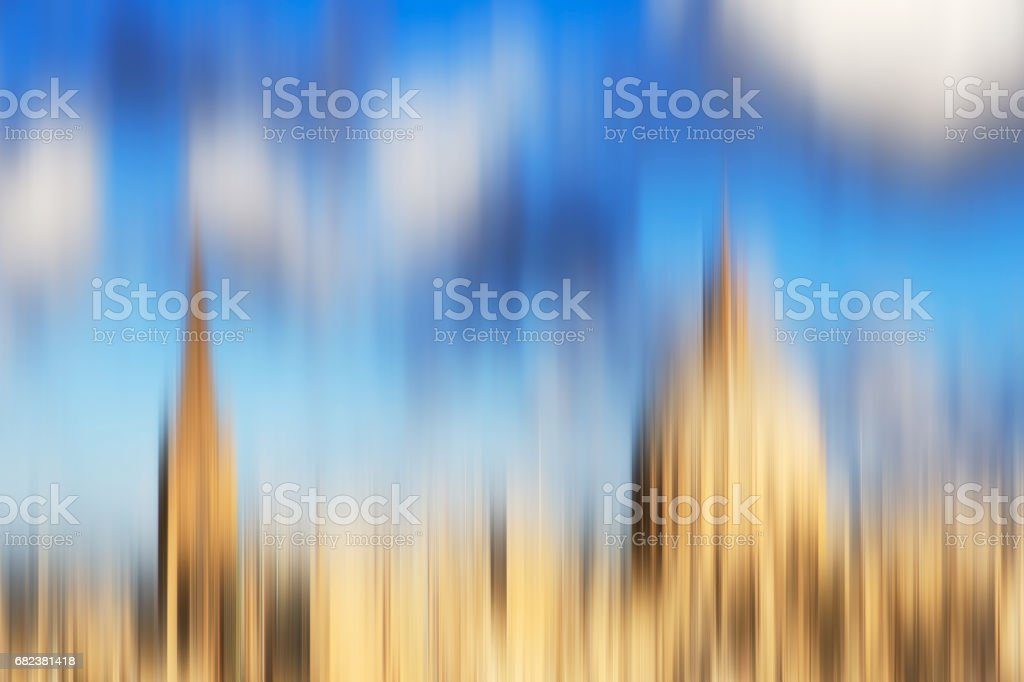 Psychedelic background based on blured architecture image royalty-free stock photo