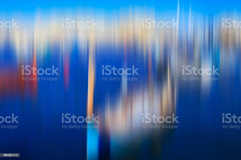 Psychedelic background based on blured landscape image royalty-free stock photo