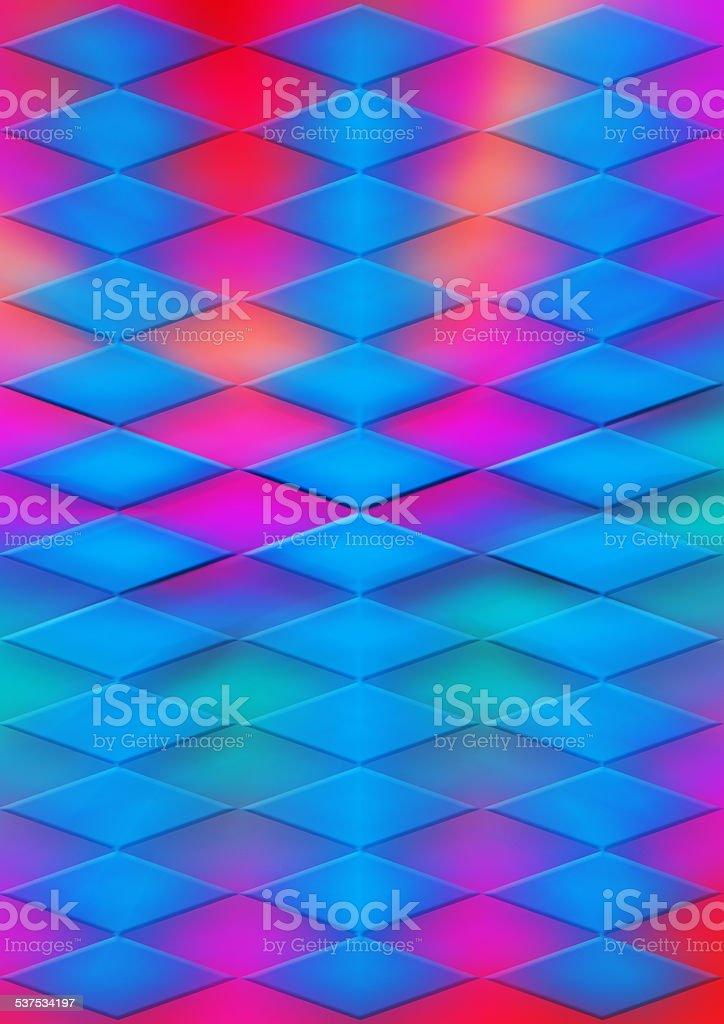 Psychedelic Diamond Background stock photo