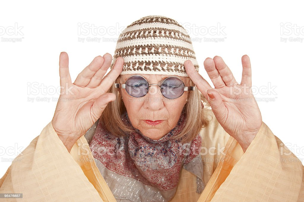 Psychic royalty-free stock photo