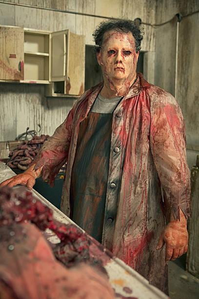Psycho Butcher dans sa cuisine de l'arme secrète - Photo