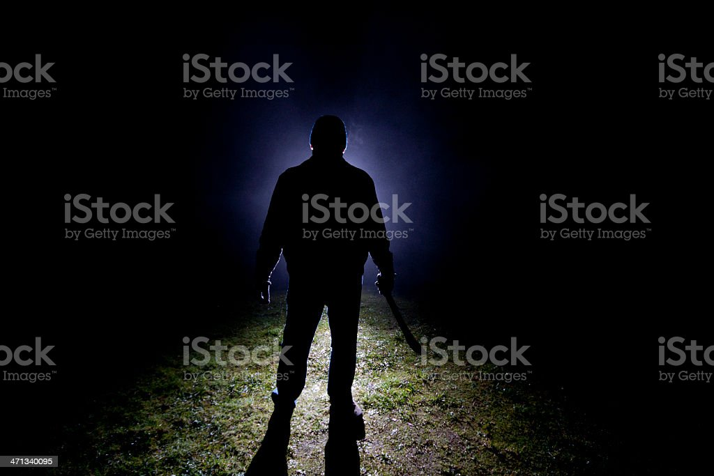 Psycho Killer - Machette stock photo