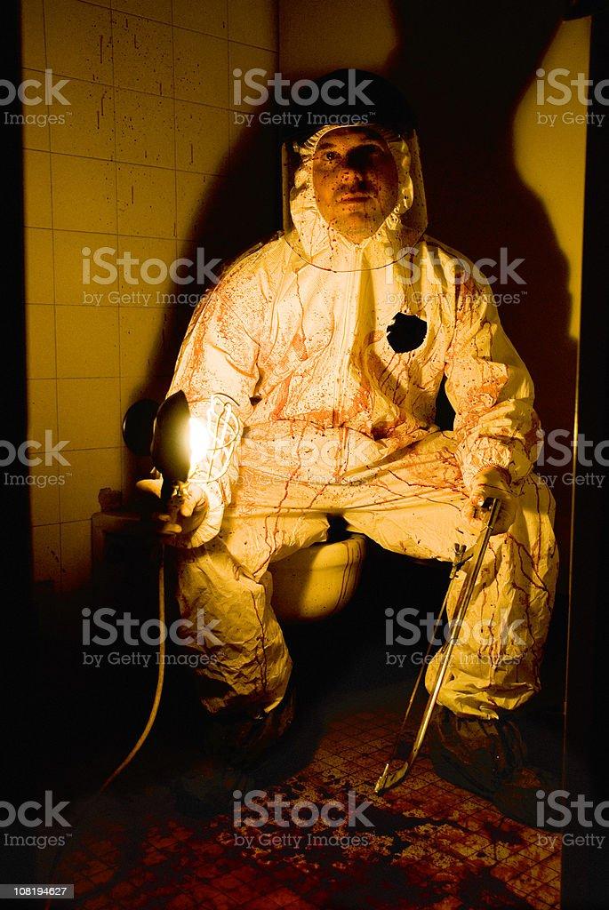 Psycho Killer Series stock photo