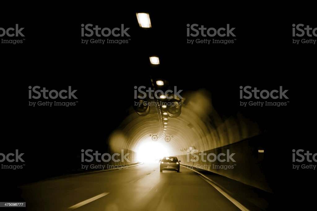 psychodelic tunnel royalty-free stock photo