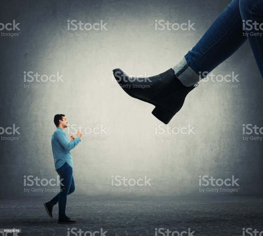 psychological dependence stock photo