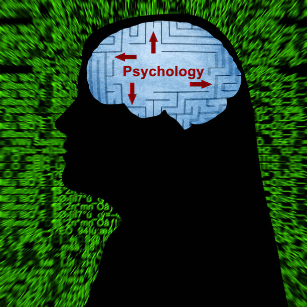 Psychology in mind concept Psychology in mind concept affective stock pictures, royalty-free photos & images