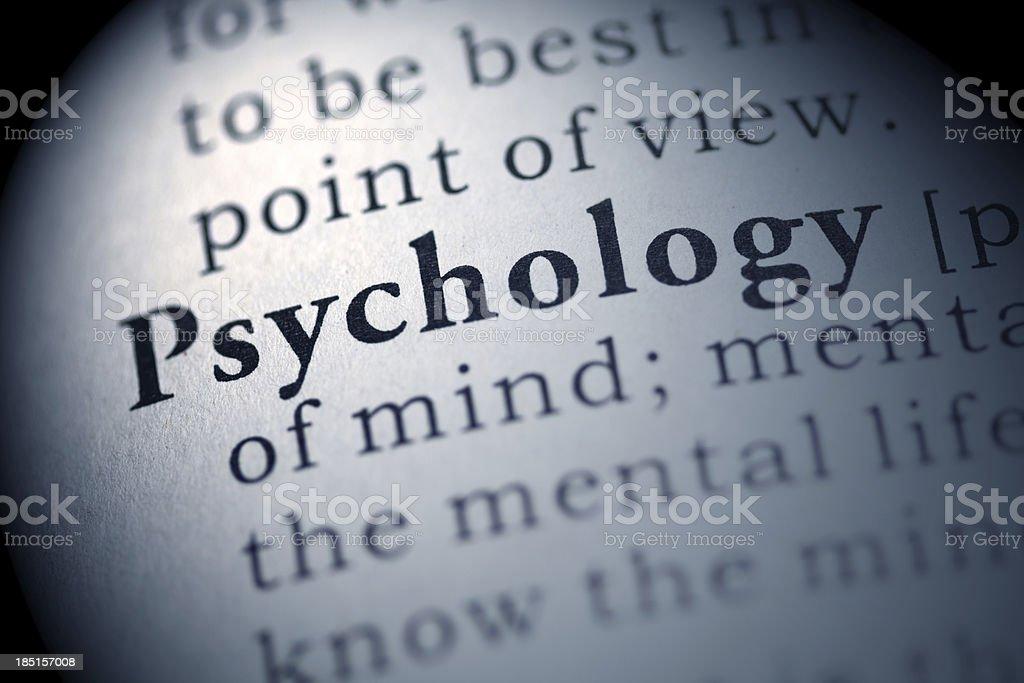 Psychology royalty-free stock photo