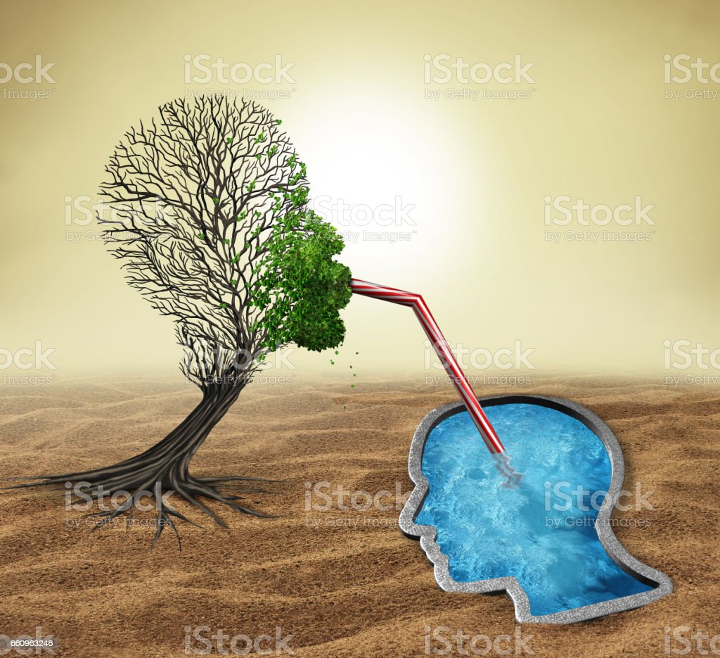 Psychology Treatment stock photo