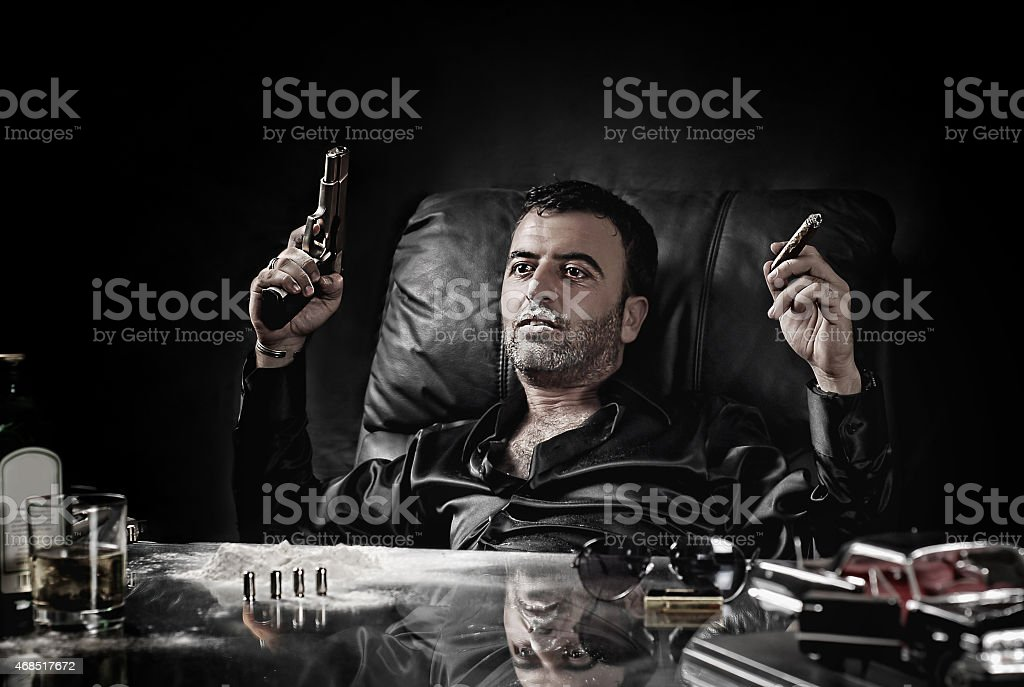 psychopath man stock photo