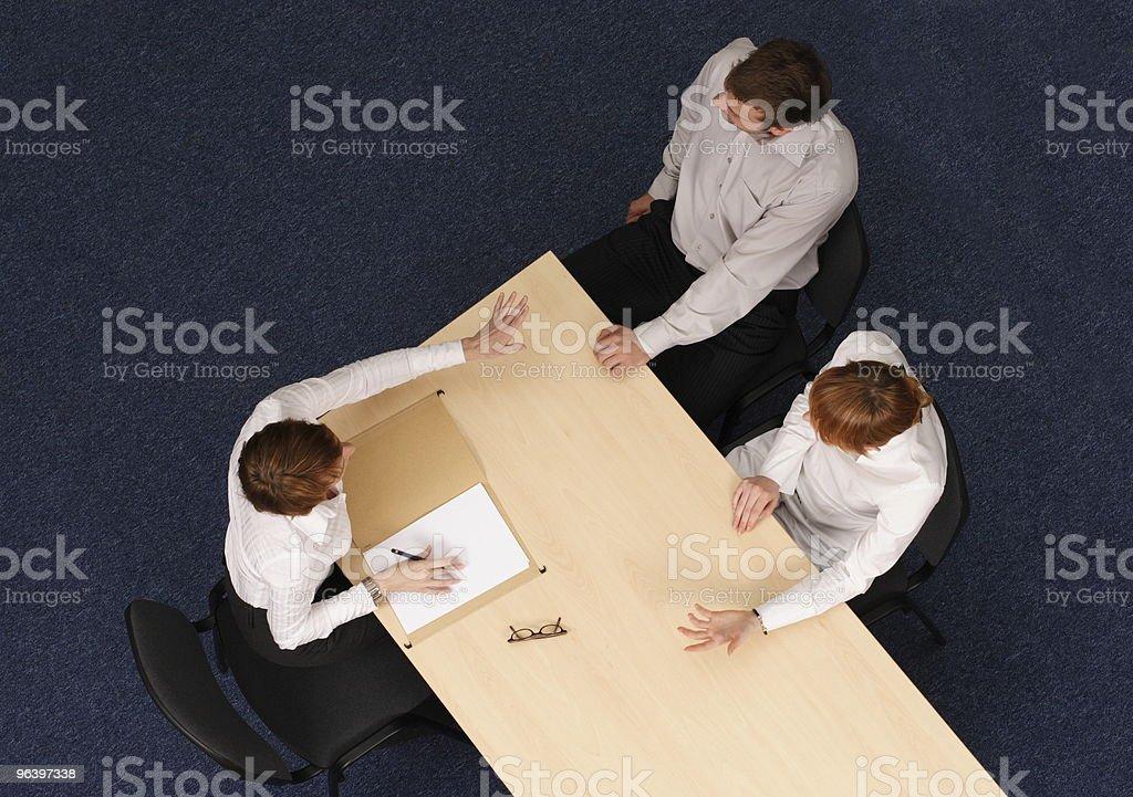 psychotherapist helping couple stock photo