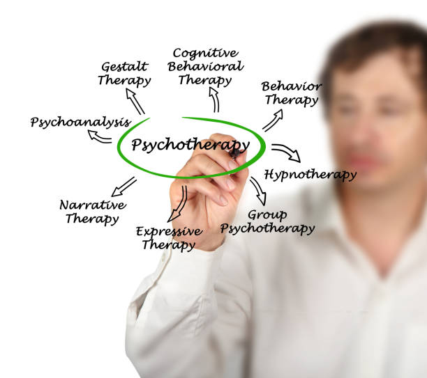 Psychotherapy stock photo