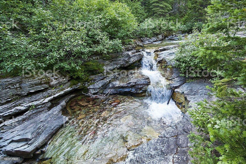 Ptarmigan Falls royalty-free stock photo