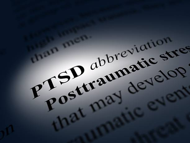 ptsd definition of Post Traumatic Stress Disorder post traumatic stress disorder stock pictures, royalty-free photos & images