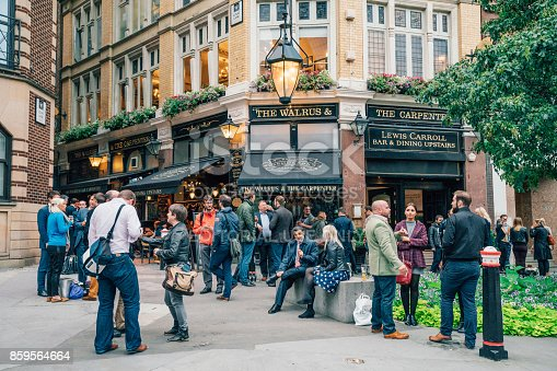 istock Pub Culture in London, UK 859564664