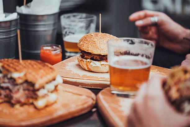 Pub Food stock photo