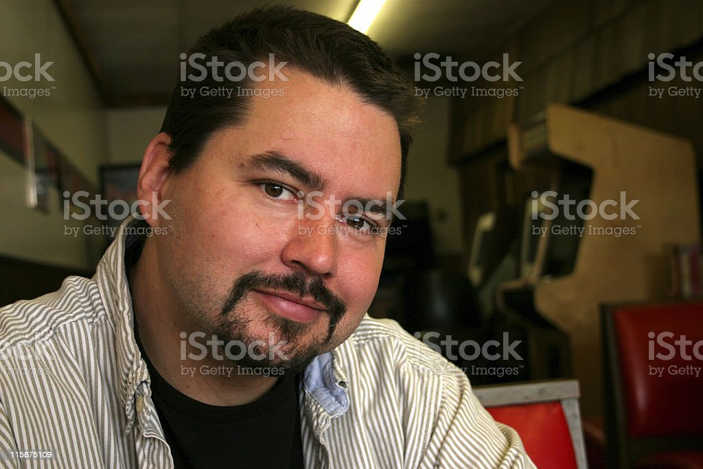 Pub Guy stock photo