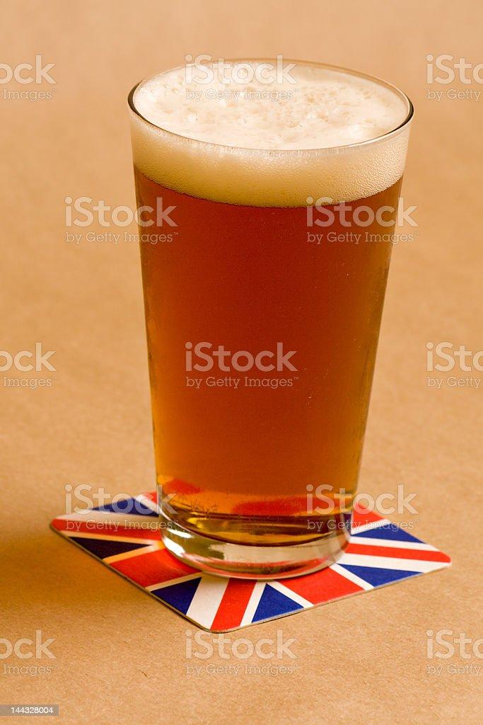 Pub Pint stock photo