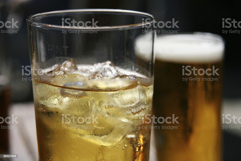 Pub Pints royalty-free stock photo