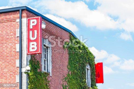 istock Pub Sign 2 180957541