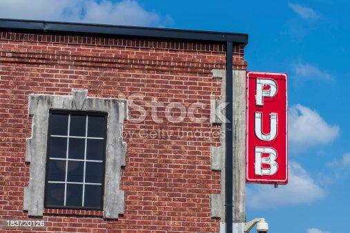 istock Pub Sign 183720126
