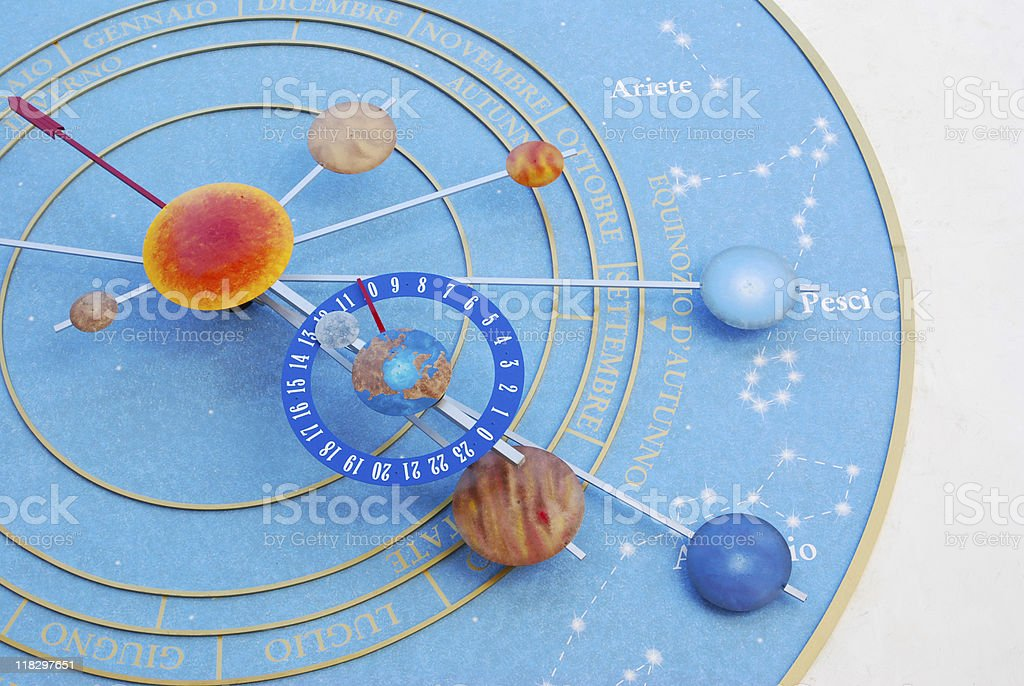 Pubblic Clock royalty-free stock photo
