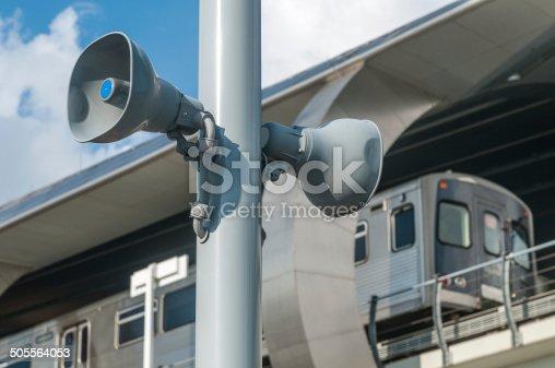 istock Public address system 505564053