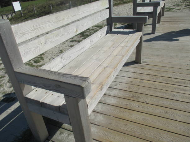 96 Wooden Bench Facing To The Sea Stock Photos Pictures Royalty Free Images Istock
