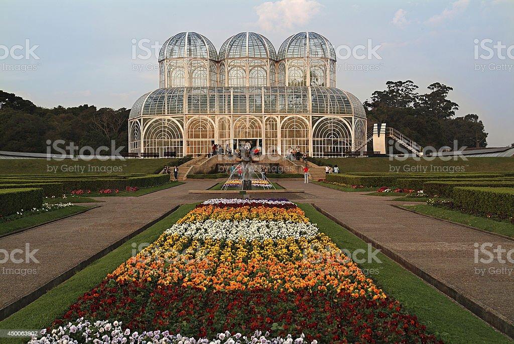 Public Botanical Garden Curitiba/Brazil stock photo