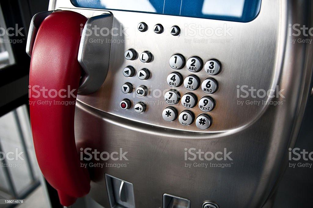 public call box royalty-free stock photo