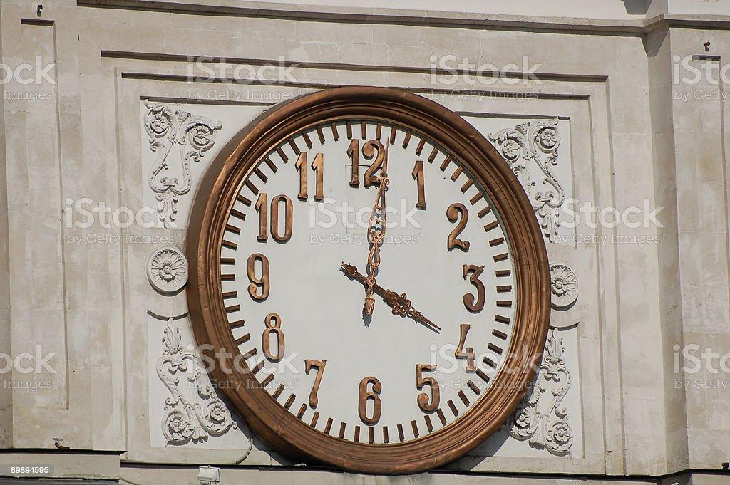 Public Clock royalty-free stock photo