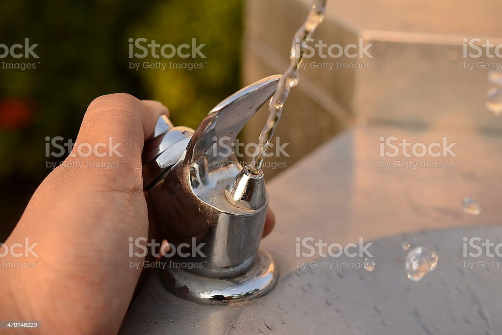 Public Drinking Water stock photo