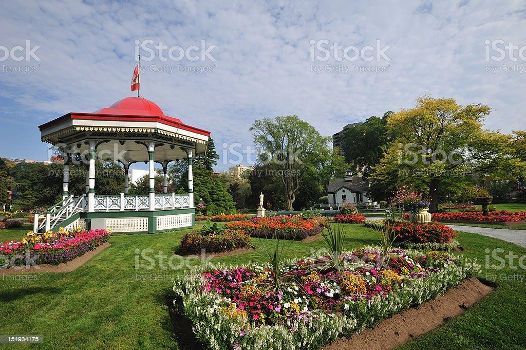 Public Garden royalty-free stock photo