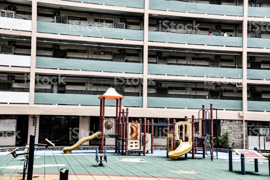 Public Hosing in Hong Kong 2 royalty-free stock photo