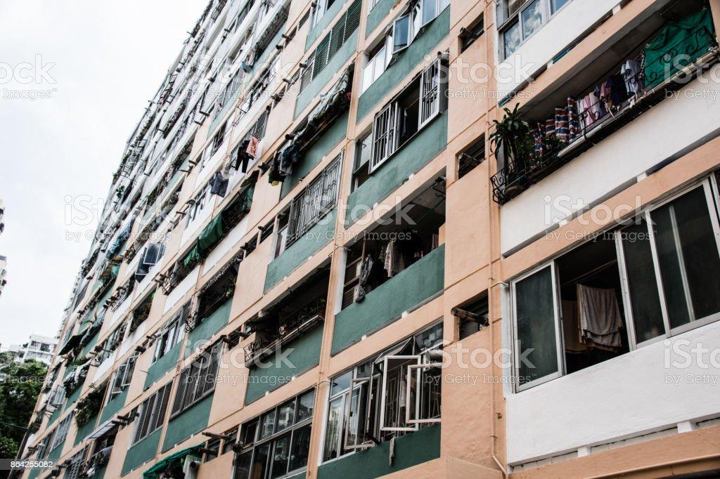 Public Hosing in Hong Kong 7 royalty-free stock photo