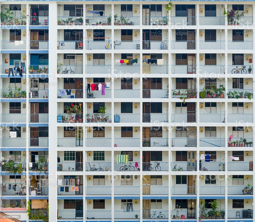 Apartments In Singapore: Public Housing Apartment At Old Airport Road Singapore