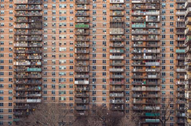 Öffentlichen Wohnprojekt, New York City – Foto