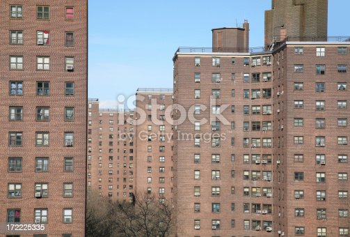 istock Public Housing Project, New York City 172225335