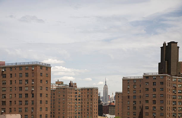 public housing projects in nyc - council flat stock photos and pictures