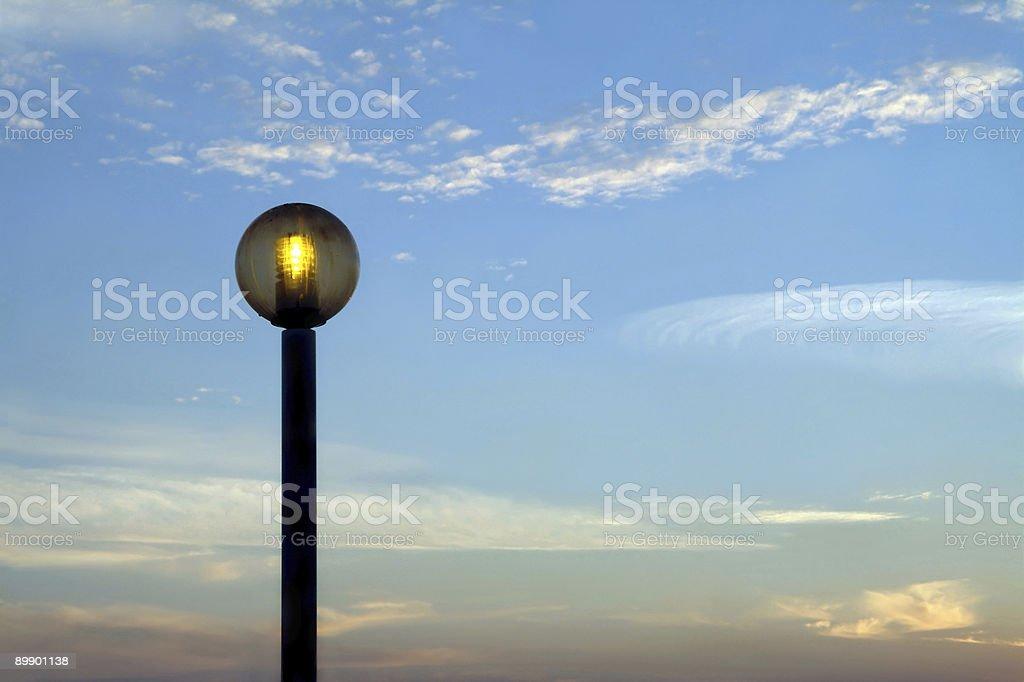 Public illumination royalty-free stock photo