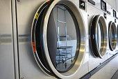 public laundromat and dryer