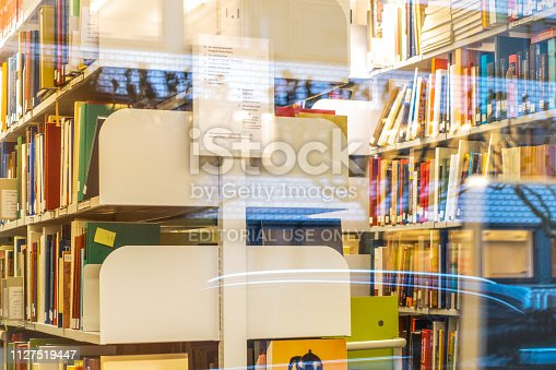 istock Public library in Hamburg, Germany 1127519447