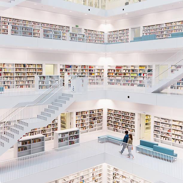 public bibliothek - deutsche bibliothek stock-fotos und bilder