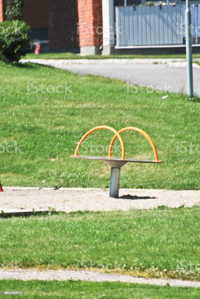 공공 공원 - 로열티 프리 0명 스톡 사진