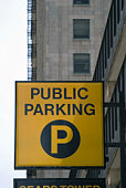 istock Public Parking Sign in the City 90820700