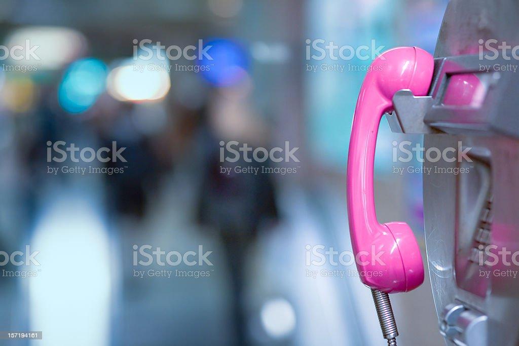 Public Phone stock photo